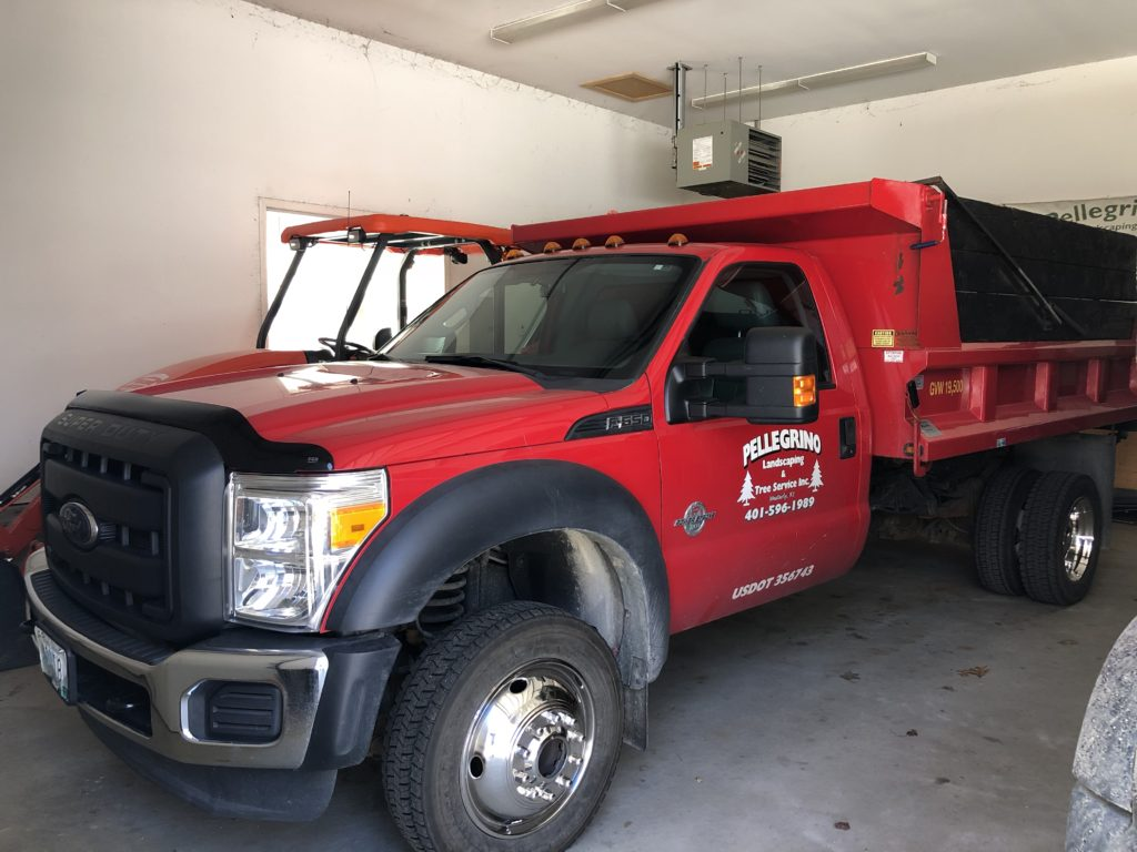 Our Truck in the Garage